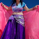 A very happy belly dancer by AlMiller