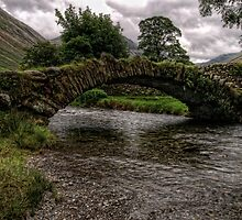 Wasdale Head Packhorse Bridge by Alan E Taylor