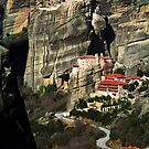 Meteora Monasteries by FOTIS MAVROUDAKIS