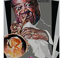 Louis Armstrong by DannyBurns