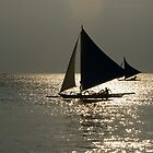 Sail on gold by robigeehk
