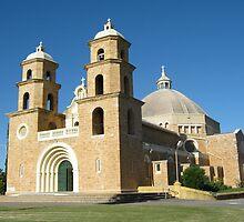St Francis Xavier Cathedral, Geraldton, Australia by Elizabeth Sheppard