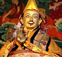 Monastery in Tibet by Peter Freier