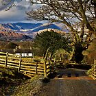 High Wray views over the Cumbrian fells by Shaun Whiteman