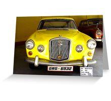 1964, Wolseley, England - Sports Saloon Greeting Card