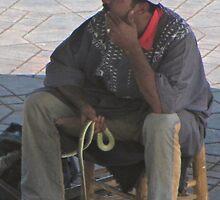 Snake Charmer, Jamel el Fna Marrakech, Morocco by gorecki79