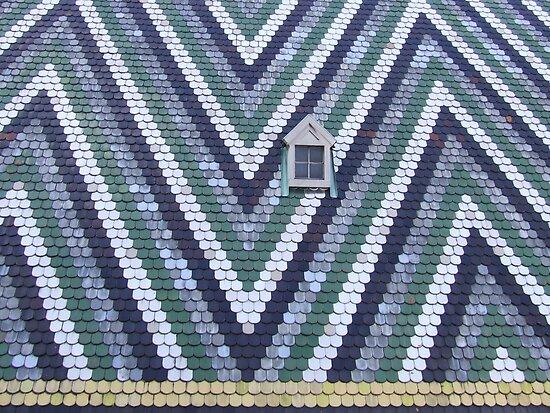 Stephansdom roof by Niera