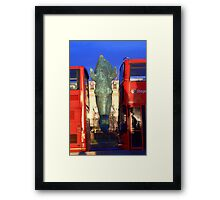 Bus(t) Framed Print