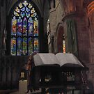 A prayer at St Giles Cathedral by Paul  Gibb