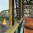 Route 66 - Chain of Rocks Bridge by Frank Romeo