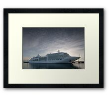 Siver Spirit - Geelong Framed Print