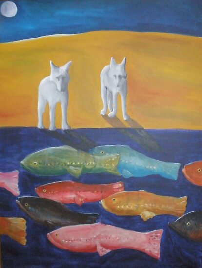 Wolves and Fish by Kay Hale