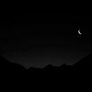 Pre Dawn Doubtful Sound Mono by Odille Esmonde-Morgan
