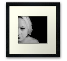 My beautiful Britta Framed Print