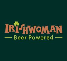Beer Powered Irish Woman by Zoo-co
