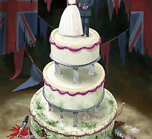 Royal Wedding 2011 cake by martyee
