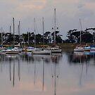 Corio Bay Yacht Club #1 by Cathy  Walker