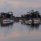Corio Bay Yacht Club #2 by Cathy  Walker