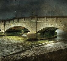 Axmouth Bridge by Catherine Hamilton-Veal  ©