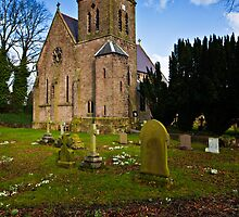 St Ninian, Wooler. Northumberland UK by David Lewins