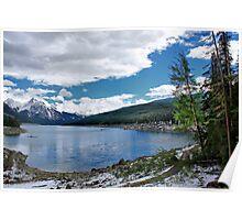 Medicine Lake, Alberta, Canada Poster