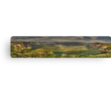 Leap Of Faith - Govetts Leap & Grose Valley (35 Exposure Panorama) - The HDR Experience Canvas Print