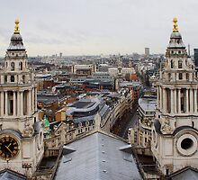 St Pauls Cathedral - Looking West by Dave Godden