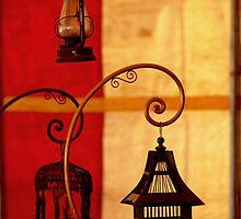 Vintage Lanterns by Glennis  Siverson