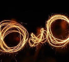 Fireworks Face by Emily Clarke