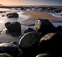 Sunset over Westward Ho by David-J