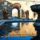 Court Yard in  Chatsworth by Elaine123
