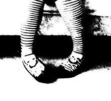 Stripy Socks and Heels by kitty93