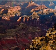 Grand Canyon Rainbow by mikewheels