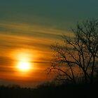 Minnesota Winter Sunset by WolfPause