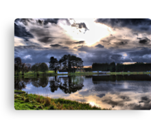 The Carp Lake Canvas Print