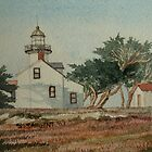 Pt Pinos Lighthouse by Sally Sargent