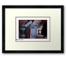 100mm Macro f2.8 IS USM Framed Print