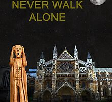 The Scream World Tour Westminster Abbey Youll Never Walk Alone by Eric Kempson