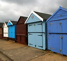 Highcliffe huts 3 by Chris Day