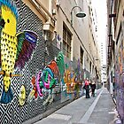 Arcades & Laneways of Melbourne by Nicole a Alley
