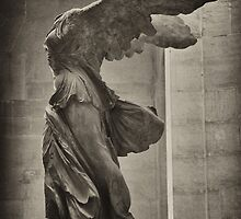 Winged Victory of Samothrace by Iris Martell