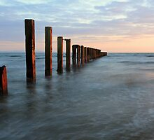 Saltcoats seascape by Grant Glendinning