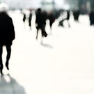 Blurred People by Ulf Buschmann