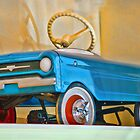 Child's Toy Blue Car by DaveMoffatt