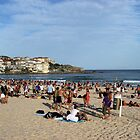Summer Day at Bondi Beach by Bluesoul Photography