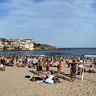Summer Day at Bondi Beach by Bluesoul Photography