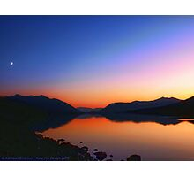 Lake MacDonald Sunset Photographic Print