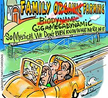 Dave Organic Farm by Londons Times Cartoons by Rick  London