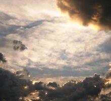 Stormy Nebraska Sky by Ilene Hames