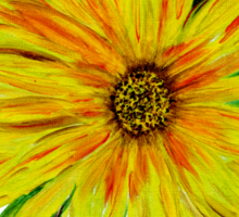 Sunflower Sunshine of Your Love  Sticker